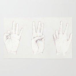 Three Threes Rug