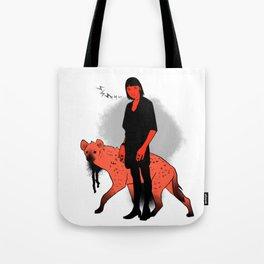 Hyena Girl Tote Bag