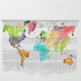 Watercolor World Wall Hanging