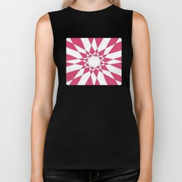 Red Crystal Biker Tank
