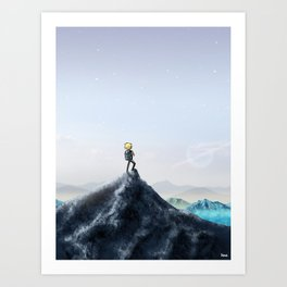 So much more to discover Art Print