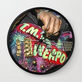 LET IT ROCK BABE - Weapon Wall Clock