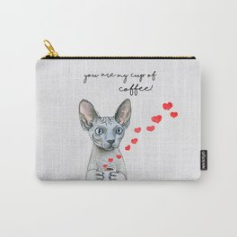 You are my cup of coffee! Carry-All Pouch
