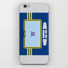 Soundwave Transformers Minimalist iPhone & iPod Skin