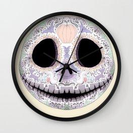 Sugar Skellington 2.0 Wall Clock