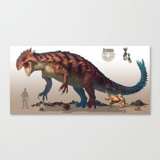 Pokemon-Groudon Canvas Print