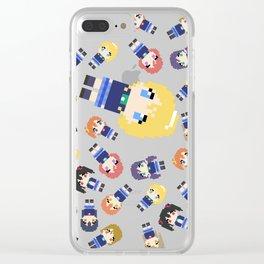 Pixel Eli Clear iPhone Case