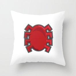 Spidy Symbol  Throw Pillow
