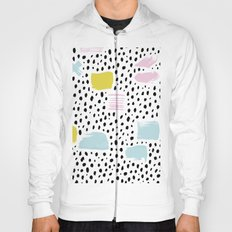 Pastel spots and dots Hoody