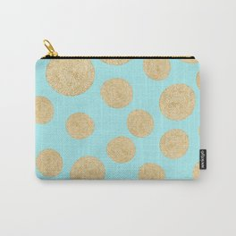 Straw Cushion Pattern Carry-All Pouch