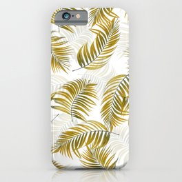 Design 166 brown leaves iPhone Case