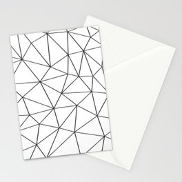 Low Pol Mesh (positive) Stationery Cards