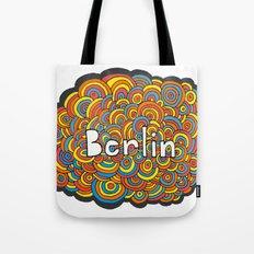 Berlin Bubbles Tote Bag