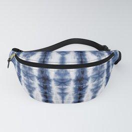 Tiki Shibori Blue Fanny Pack