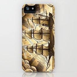 Sailing Winds iPhone Case