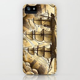 Sailing Winds iPhone Case