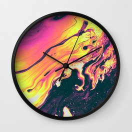 CORINTHIAN LEATHER Wall Clock