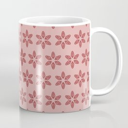 Practically Perfect - Vagina Petals in Pink Coffee Mug