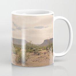 Down Desert Roads II Coffee Mug