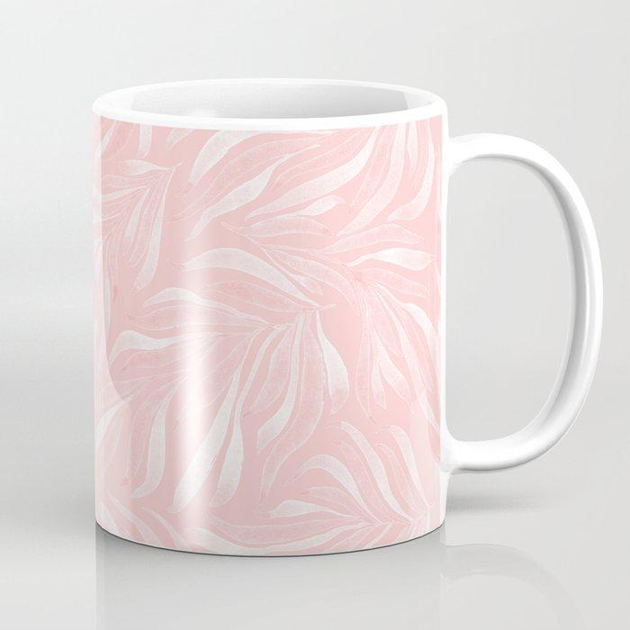 Pink Foliage III Coffee Mug