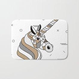 Unicorn Chocolat Bath Mat