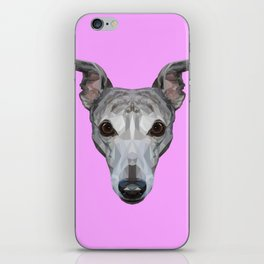 Whippet // Lilac iPhone Skin