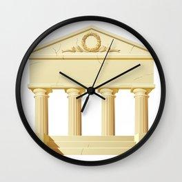 Antique building  Wall Clock