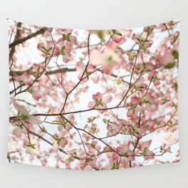 Floral Canopy Wall Tapestry