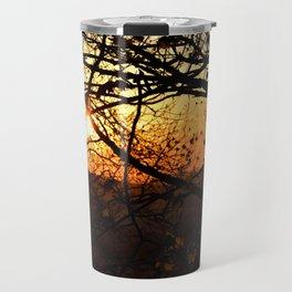 Sun through trees Travel Mug