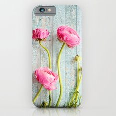 pink ranunculus Slim Case iPhone 6s