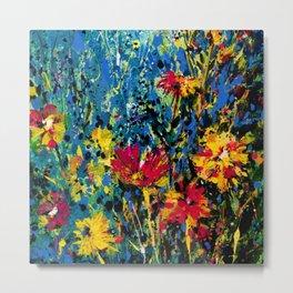 Floral Dream 1 by Kathy Morton Stanion Metal Print