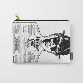 Elwood Blues Brothers Tattooed - 'Dry White Toast' Carry-All Pouch
