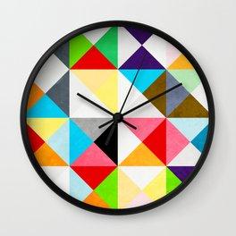 Geometric Morning Wall Clock