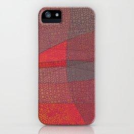 """Pastel Abstract Symmetrical Landscape"" iPhone Case"