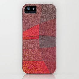 """Pastel Abstract Symmetrical Landscape"" iPhone Case"