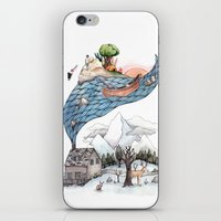 camus iPhone & iPod Skins featuring Invincible Summer by Brooke Weeber