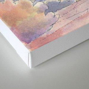 Il Veliero Volante Canvas Print