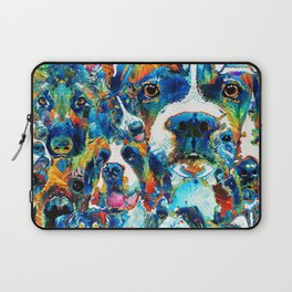 Dog Lovers Delight - Sharon Cummings Laptop Sleeve