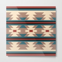 Southwestern Pattern 126 Metal Print