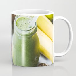 fresh smoothie with fruits, berries, oats and seed Coffee Mug