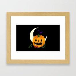 Night of the Jack O'Lantern Framed Art Print