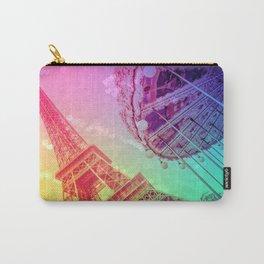 Paris : Rainbow Romance Carry-All Pouch