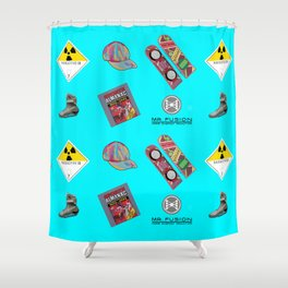 Where we are going we don't need roads Shower Curtain