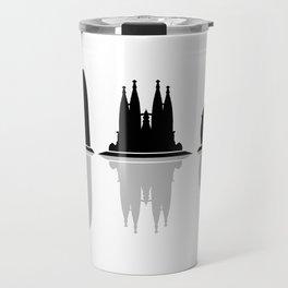 Barcelona skyline Travel Mug