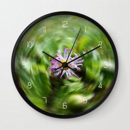 Bellis Perennis #3 Wall Clock