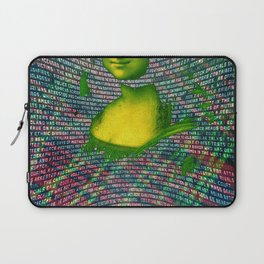 Digi-Mona Laptop Sleeve