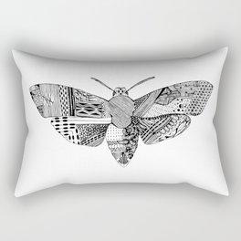 Death Head Moth Rectangular Pillow