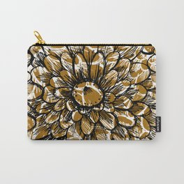 Moroccan Sunflower Carry-All Pouch