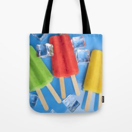 Colorful Ice Pops Tote Bag