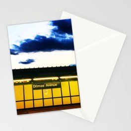 Sunset on Ditmas Ave Stationery Cards